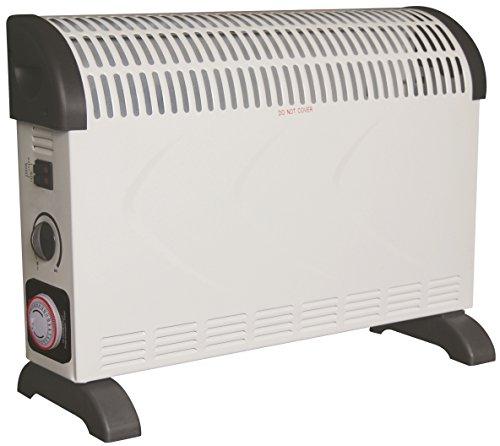 Grafner® Konvektor Heizgerät 2000 Watt mit Timer Elektroheizer Heizer Heizlüfter Heizkonvektor Zeitschaltuhr