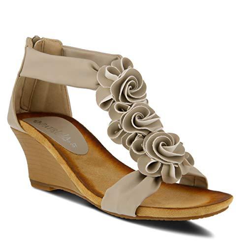 PATRIZIA Women's Harlequin Wedge Sandal Beige