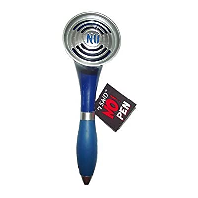 I SAID NO PEN, Assorted colors - Black, red or Blue (1 Item only), Model: Baby