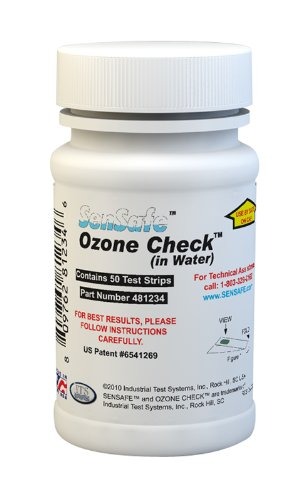 Industrial Test Systems 481234 Sensafe Ozone Test Strips