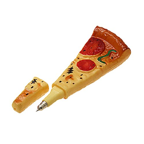 Funny Pizza Ball Pen Ball-Point Pen with Magnet