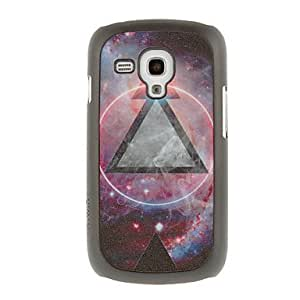 Buy Powerful Triangle Drawing Pattern Protective Hard Back Cover Case for Samsung Galaxy S3 Mini I8190