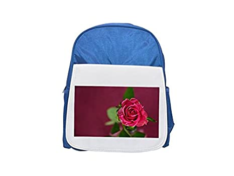 Mochila de color rosa, invitación, cupón, rosa, con estampado de amor para