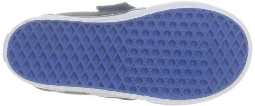 Vans T Slip-On V - Zapatillas de Deporte de tela Infantil negro - Noir (Herringbone Bl)