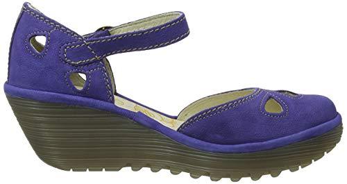 Azul Tacón Fly Cerrada De Con 143 London Mujer Yuna Blue Para Punta Zapatos royal xIFrvIwf