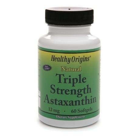 Healthy Origins Astaxanthin 12mg Triple Strength, Softgels - 3PC