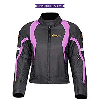 XuBa Chaqueta y Pantalones de Moto para Mujer para Mantener Caliente en Invierno o Moto