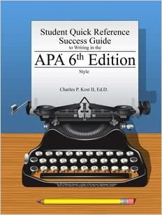 apa latest edition 2015