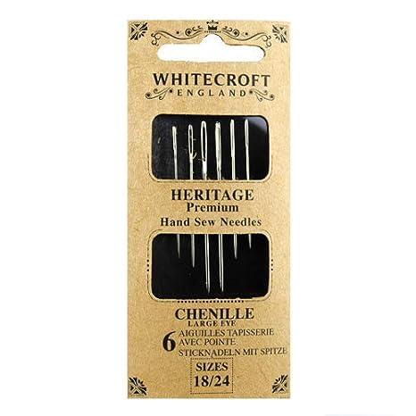 6-Pack Size 18 DMC 1768-18 Chenille Hand Needles