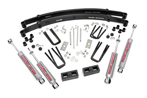 Rough Country - 705.20 - 3-inch Suspension Lift Kit w/ Premium N2.0 Shocks for Toyota: 84-85 Pickup 4WD (Pickup 4wd)