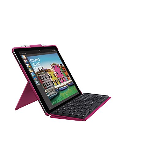 Logitech Slim Combo with Detachable Backlit Keyboard and Smart Connector for iPad Pro 12.9'' (920-008433) by Logitech