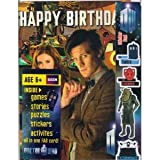 Doctor Who Matt Smith and Amy Pond MULTI ACTIVITY BIRTHDAY CARD (Mini Comic Book Puzzles Stickers inside), Health Care Stuffs