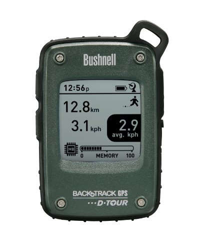 Bushnell BackTrack D Tour GPS Personal Locator, Green, Multi Language 360315
