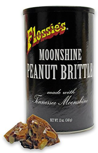 Moonshine Peanut Brittle Made With Tennessee Moonshine (12 OZ)