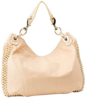 Rebecca Minkoff Mini Luscious With Light Gold Hardware AILLCRE Hobo,Sand,One Size