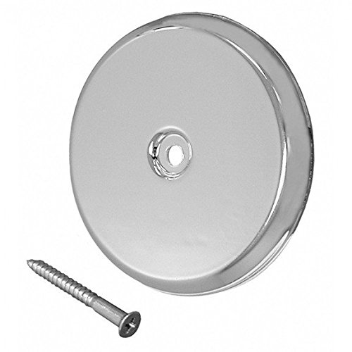 9-1/4 Chrome Finish High Pearl Nickel (PN) act Plastic Cleanout Cover Plates Flat Design- Pack of 5