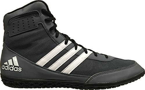 adidas Ring Wizard Boxing Shoes, Grey/Black, 9