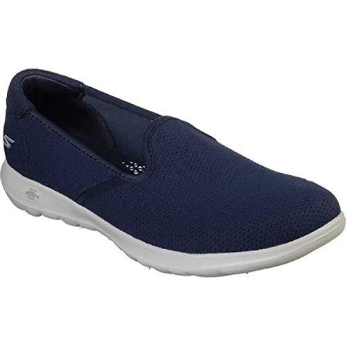 (スケッチャーズ) Skechers レディース ランニング?ウォーキング シューズ?靴 GOwalk Lite Heavenly Slip-On Walking Shoe [並行輸入品]