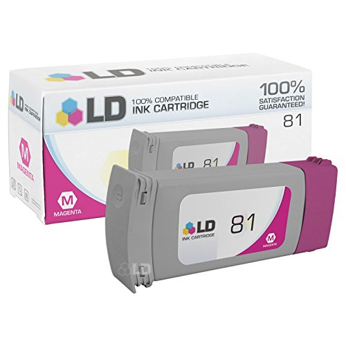 LD Remanufactured Ink Cartridge Replacement for HP 81 C4932A ()