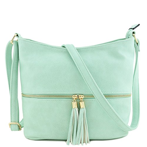 7c75bda06 Tassel Zipper Bucket Crossbody Bag - Buy Online in Oman. | Shoes Products  in Oman - See Prices, Reviews and Free Delivery in Muscat, Seeb, Salalah,  Bawshar, ...
