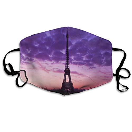 Face Mask Paris Wallpapers Unique Cycling Half Face Earloop Mouth Mask for Man]()