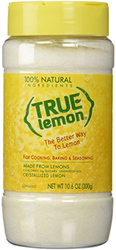 TRUE CITRUS Lemon Large Shaker, 10.6 Ounce ()