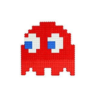 Strictly Briks Pac-Man & BANDAI NAMCO Entertainment Inc | Pac-Man Blinky Ghost - 158 Pieces 3D Briks 2D Build
