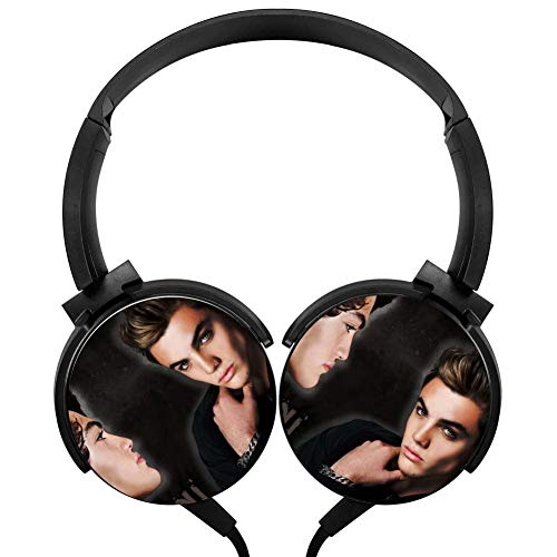 Wired Stereo Headphone Cool Do-LAN Twins Portable Noise Cancelling Over Ear Headset Earphone Earpiece