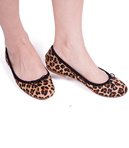 Ballet mujer Nude multicolor ABUSAFelicia Leopard New gHYqUwd