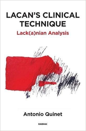 Amazon lacans clinical technique lackanian analysis lacans clinical technique lackanian analysis fandeluxe Gallery