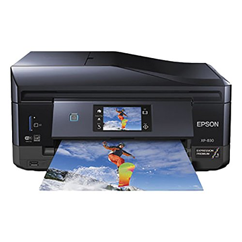 Expression Premium XP-830 Compact Wireless All-In-One Inkjet