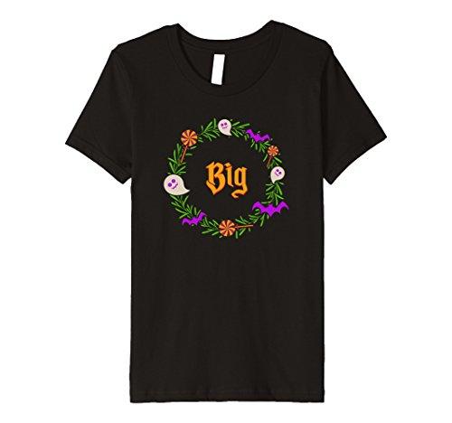 Kids Halloween costume Big sister sorority tshirt 10 (Sorority Girl Halloween Costume)
