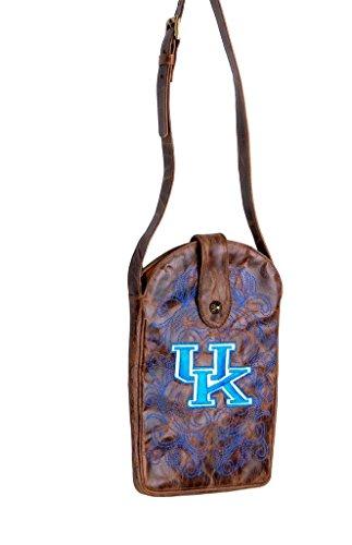 GAMEDAY BOOTS NCAA Kentucky Wildcats Women's Cross Body Purse, Brass, One ()