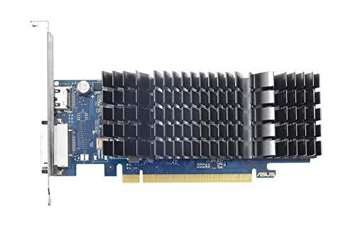 Asus GeForce GT1030-SL-2G-BRK Low-Profile grafische kaart (Nvidia, PCIe 3.0, 2GB GDDR5 geheugen, HDMI, DVI)