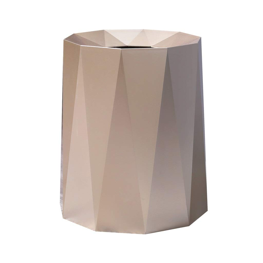 Cunemmo Creative Simple Nordic Trash can Living Room Bedroom Simple Bathroom Office Without lid Trash Home Japanese by Cunemmo