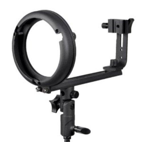 Ring Adapter Speed (CowboyStudio Bowen, Calument, Travelite T Speedlight Bracket For Canon and Nikon Speedlight Flash Units)