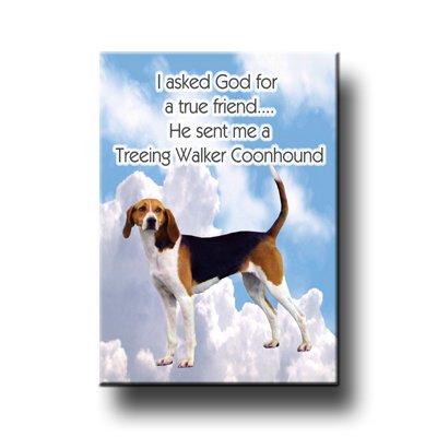 Treeing Walker Coonhound True Friend Fridge Magnet No 1