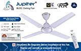 Jupiter Quadcopter BLDC 48' Energy Efficient Remote Controlled C/Fan Snow White 4 Blades
