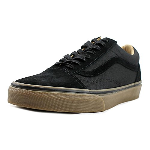Vans Old Skool Reissue DX Coated Black Medium Gum nero