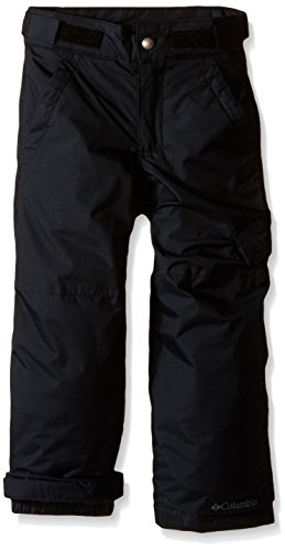 Columbia Toddler Boys' Ice Slope II Pant, Black, 2T