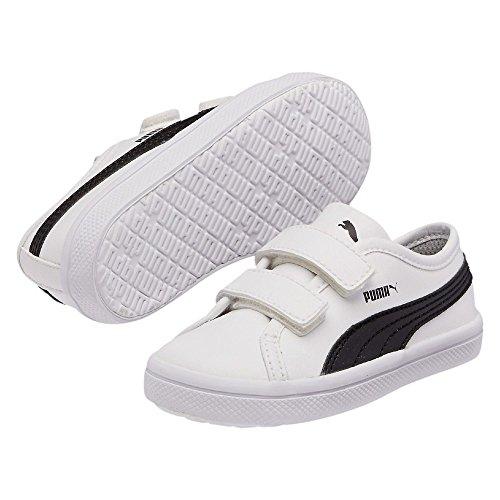 Puma Elsu Sl F V Kids - Zapatillas Blanco