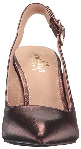 London Shellys Women's Bronze Chester D'Orsay Pump f4BAqrcBwd