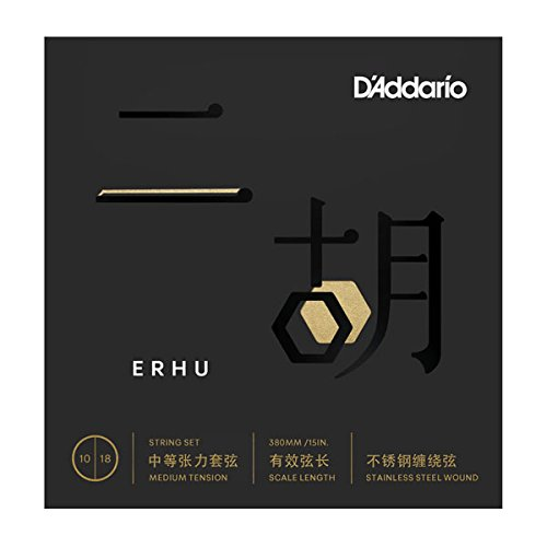 D'Addario Erhu Strings, Medium by D'Addario Woodwinds