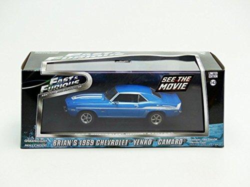 Greenlight A Todo Gas 2 Veh/ã/Culo 1//43 1969 Chevrolet Camaro