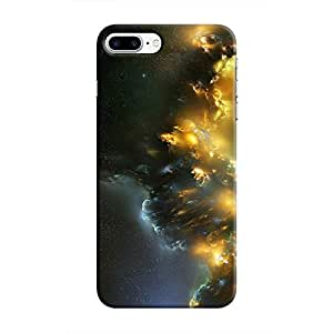 Cover It Up - Yellow Space Cloud iPhone 7 Plus Hard case
