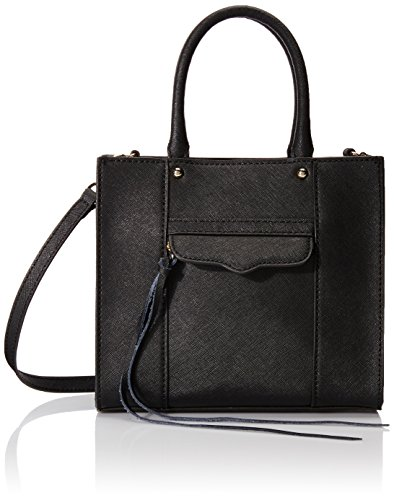 Rebecca Minkoff MAB Tote Mini Cross Body Bag,Black,One Size