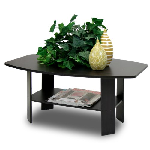 Furinno 11179EX Simple Design Coffee Table, Espresso - Room And Board Coffee Tables: Amazon.com