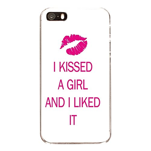 "Disagu Design Case Coque pour Apple iPhone 5 Housse etui coque pochette ""I KISSED A GIRL"""