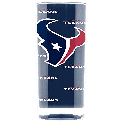 NFL Houston Texans 16oz Insulated Acrylic Square Tumbler
