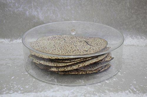 Plate Passover Matzah (Majestic Giftware LMB100 Passover Lucite Matzah Box, 14